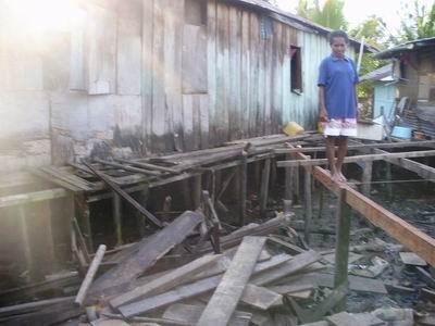 Lokasi di belakang Lido, Kampung Baru - Sorong